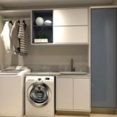 lavanderia azul